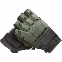 Перчатки без пальцев с пластиковой накладкой Inspire